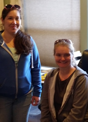 Janna & Melissa - Office Staff of Creative Edge of Spokane