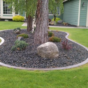 Front Yard Landscaping Feature