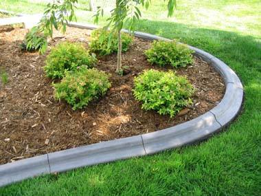 concrete curbing and landscape edging in Spokane, Wa and North Idaho