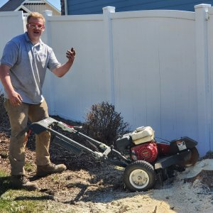 Stump Grinding Video